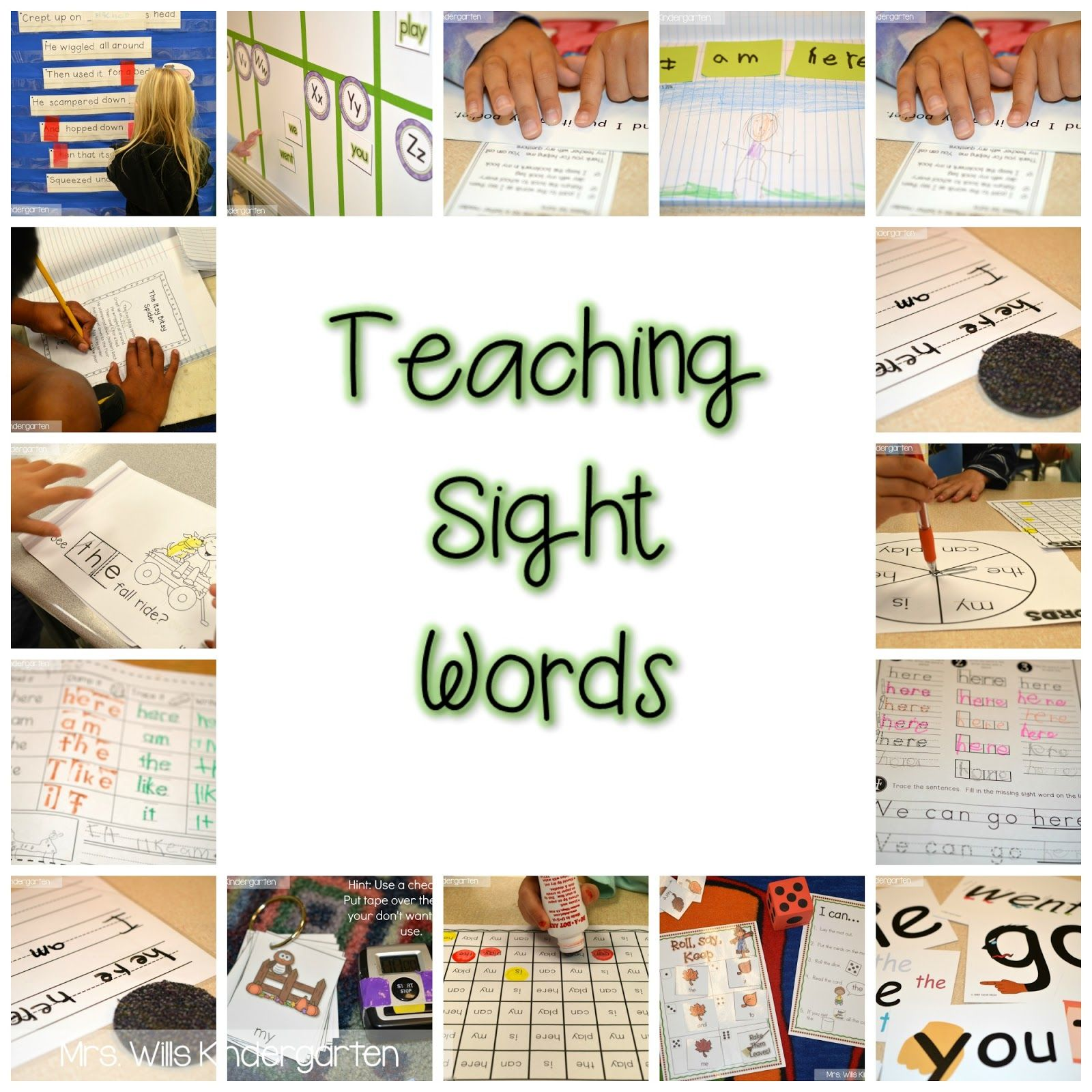 Looking for sight word instruction ideas. I have collected a ton of ...