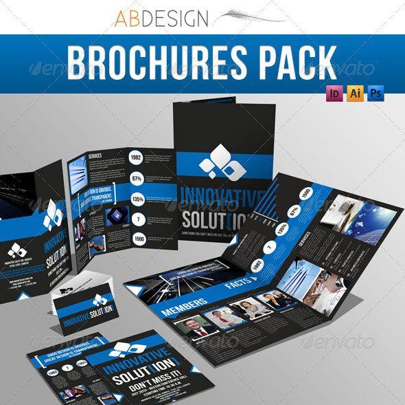 14 Creative 3 Fold Photoshop/Indesign Brochure Templates | Brochures ...