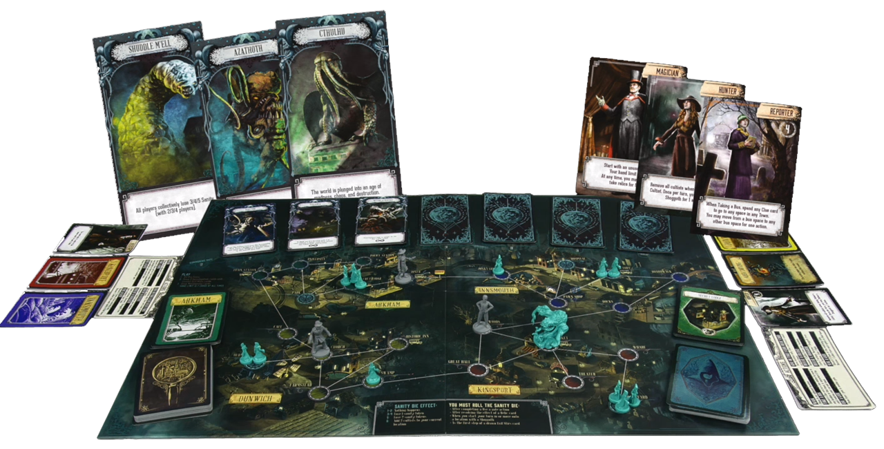 Pandemic Reign of Cthulhu Board games, Cthulhu