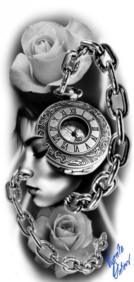 25 Trendy Tattoo Sleeve Ideas Sketches Compass Clock Tattoo Clock Tattoo Design Tattoo Designs