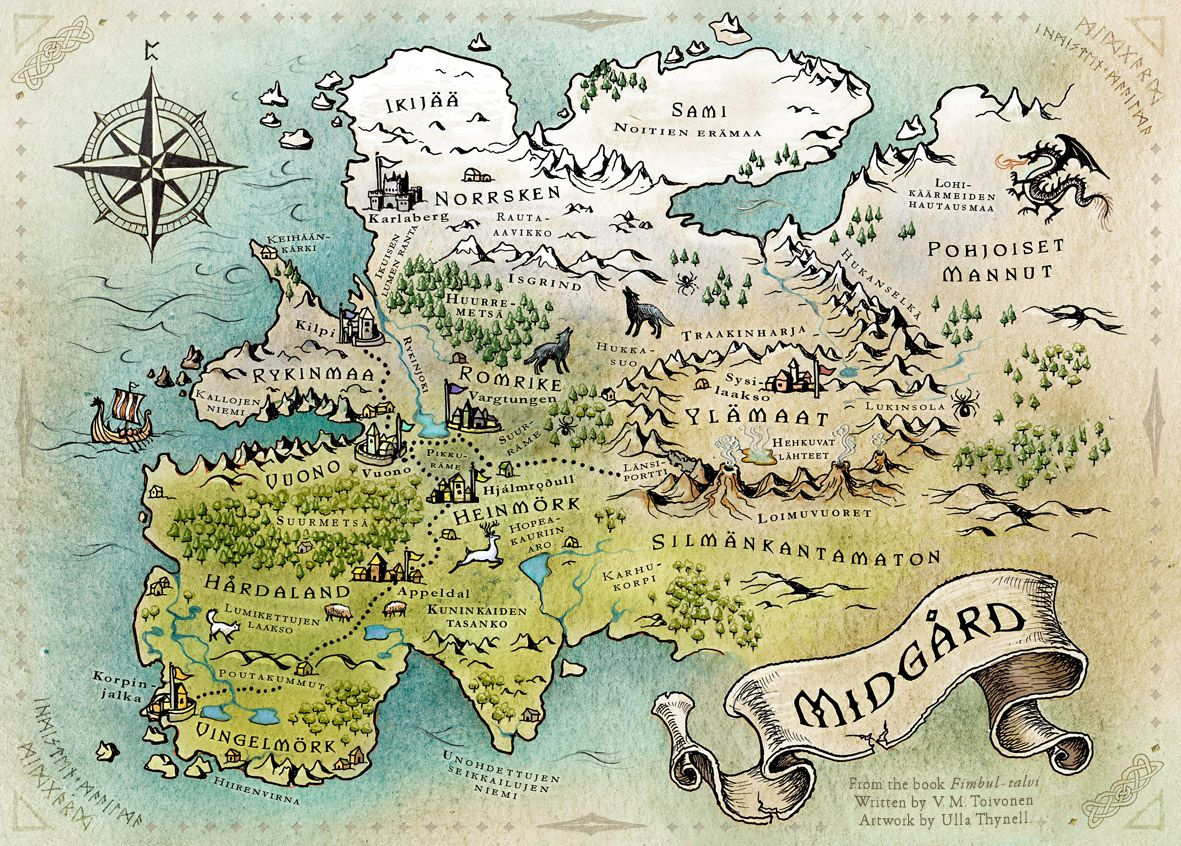 How To Make Your Own Fantasy Map In 4 Easy Steps