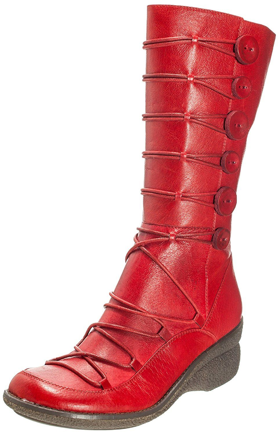Miz Mooz Womens Owen Boot Red 41 M US ** You can get additional details at  the image link.