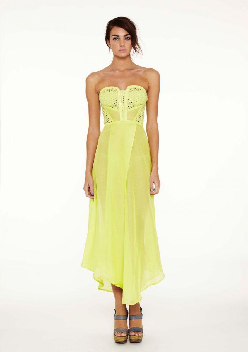Maxi dress australian designer