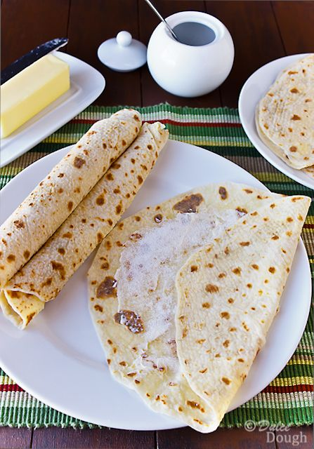 - Norwegian Potato Lefse -