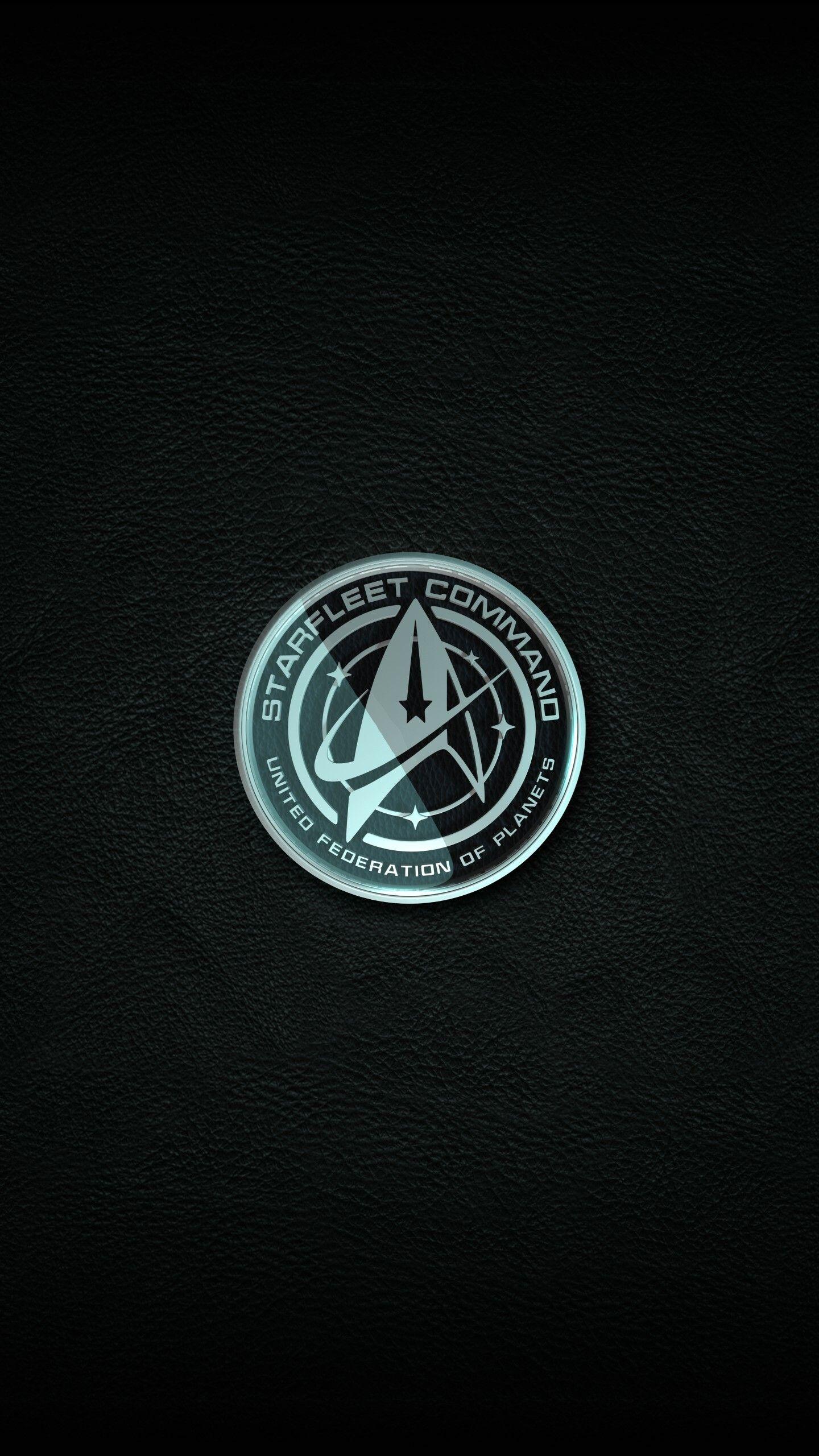 Robert Fodora Starfleet Logo In 2020 Star Trek Wallpaper Star Trek Pin Star Trek Logo