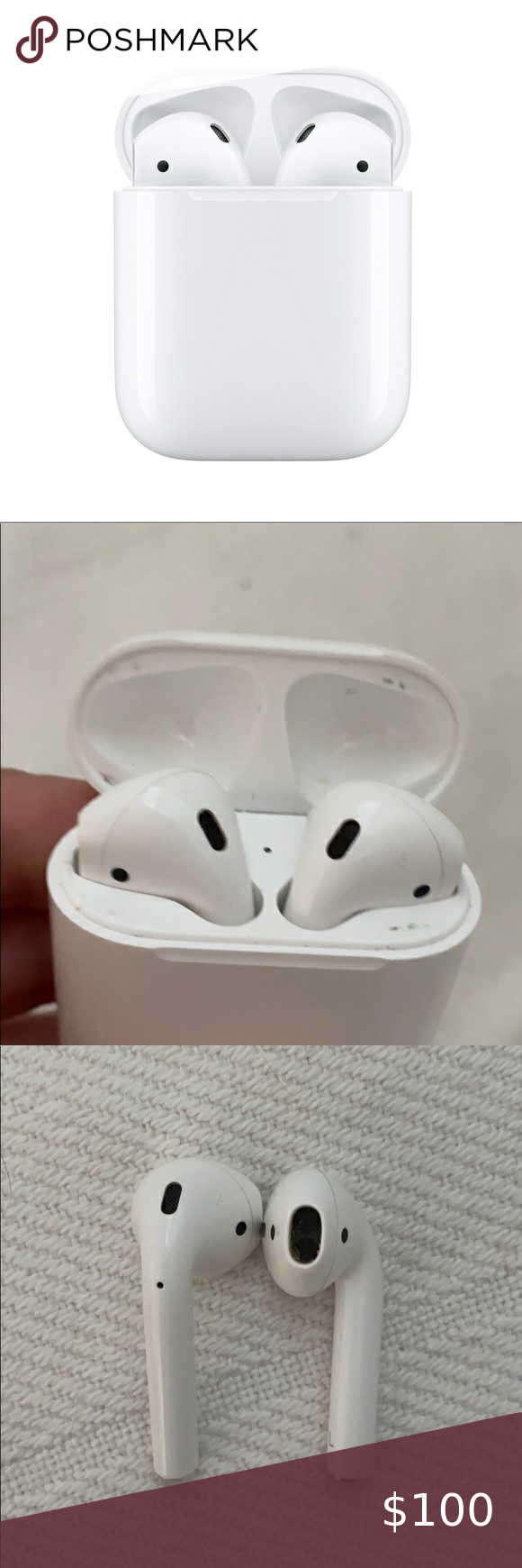 Apple Airpods With Charging Case First Gen Apple Case Electronic Products