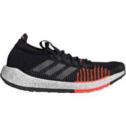 Adidas Herren Laufschuhe Pulse Boost Hd, Größe 46 ? in Schwarz/Grau/Orange/Weiß, Größe 46 ? in Schwa