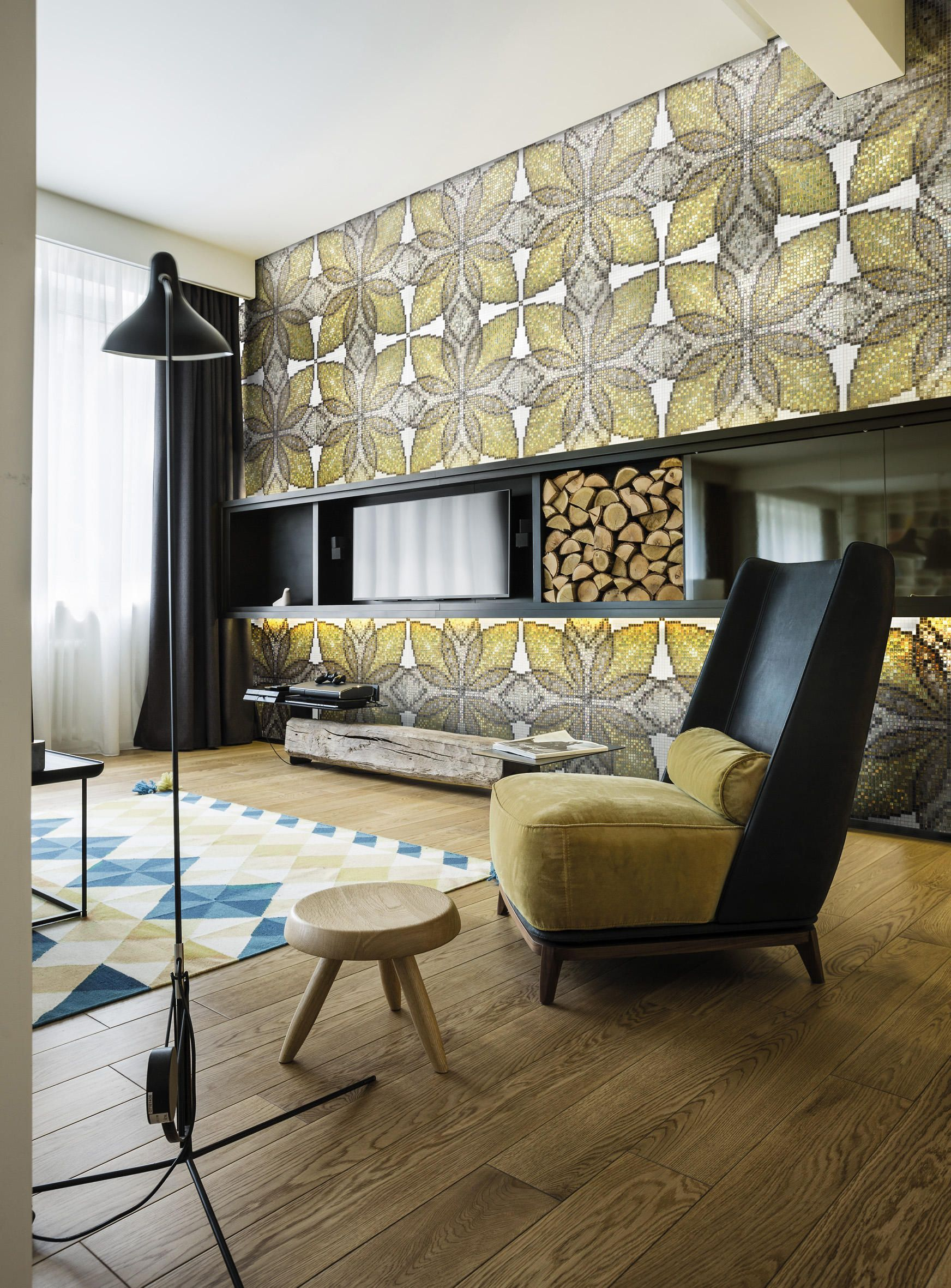 Botanic Tale 10x10 Puranto By Mosaico Furniture Design Li