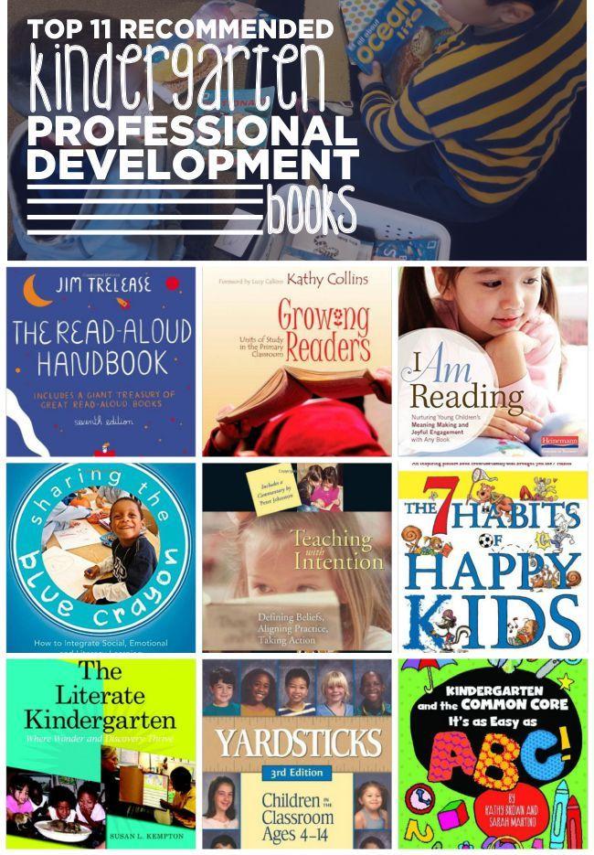 Top 11 Recommended Kindergarten Professional Development Books