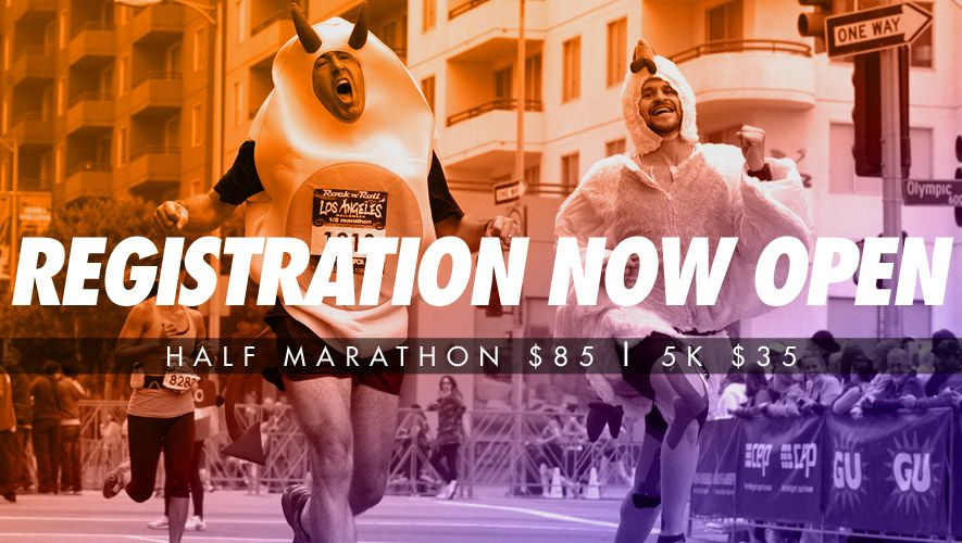 Los Angeles Rock 'n' Roll Half Marathon & 5K Races 2015