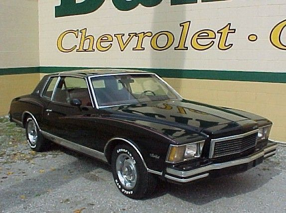 1979 Chevrolet Monte Carlo Ours Was Silver With Black Down The Center Of The Hood And 3 4 Of The Roof Chevrolet Monte Carlo Chevrolet Classic Cars Trucks