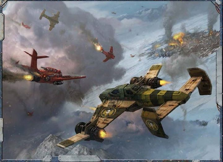 Dogfights in the 41st Millennium