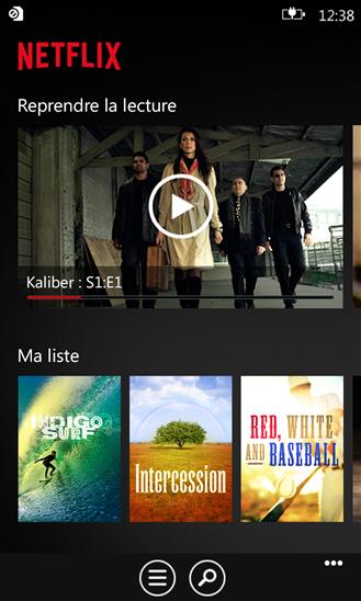 Netflix on windows phone Lecture, Microsoft store et Netflix