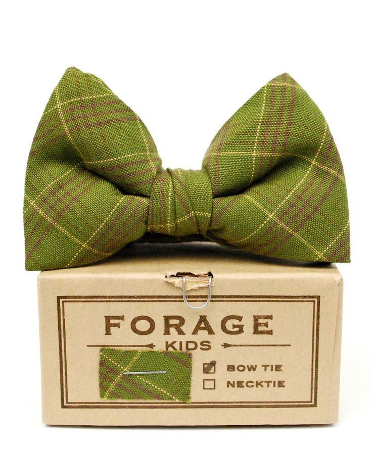 Boy's Bow Tie ~ Forage Haberdashery