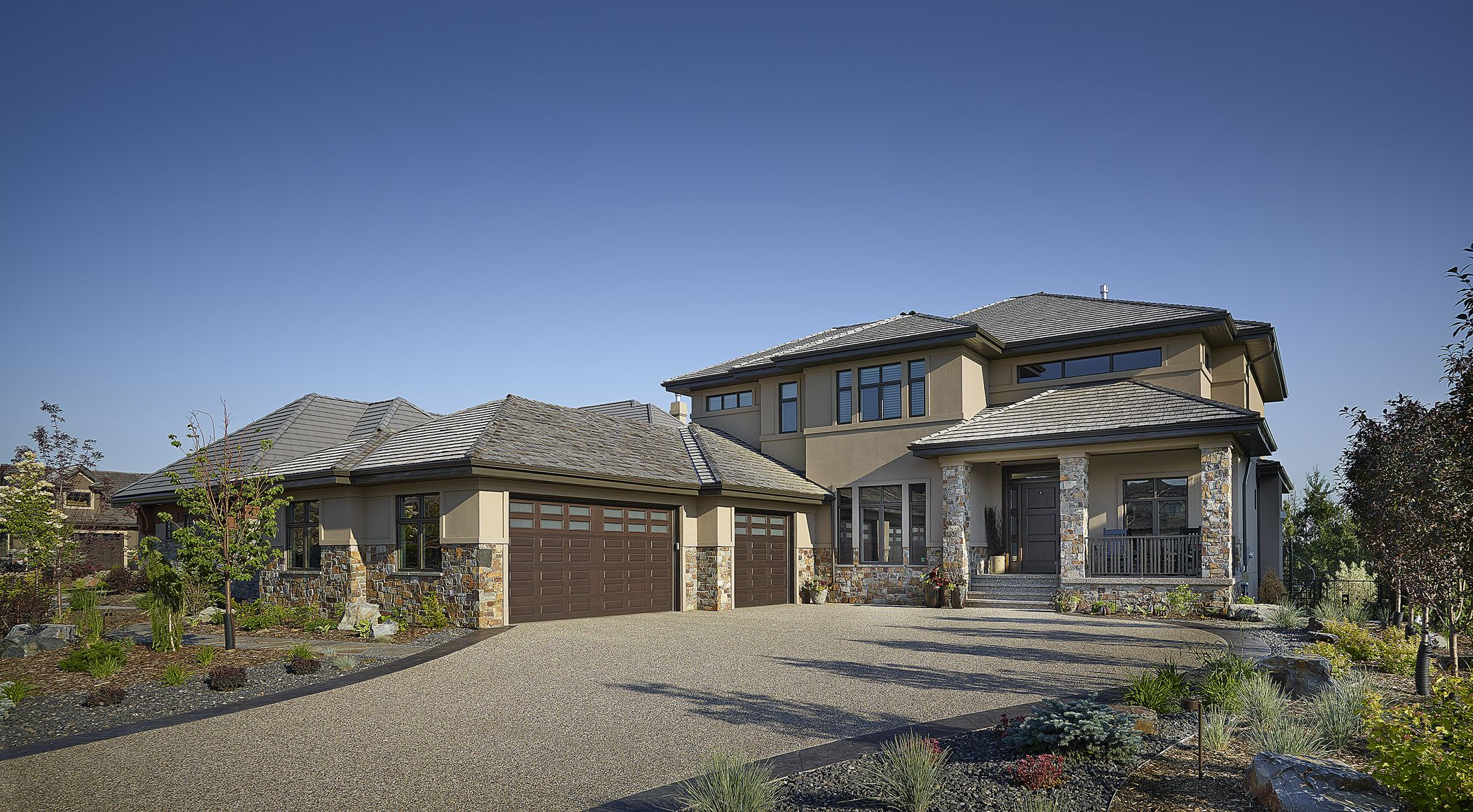 Custom Built Home By Birkholz Homes In Edmonton Ab Custom Built Homes House Exterior House Styles