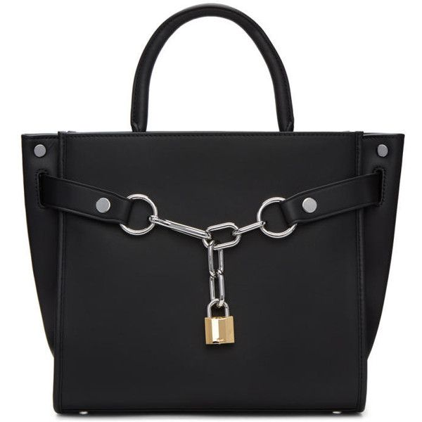 Alexander Wang Black Large Attica Chain Satchel 11 260