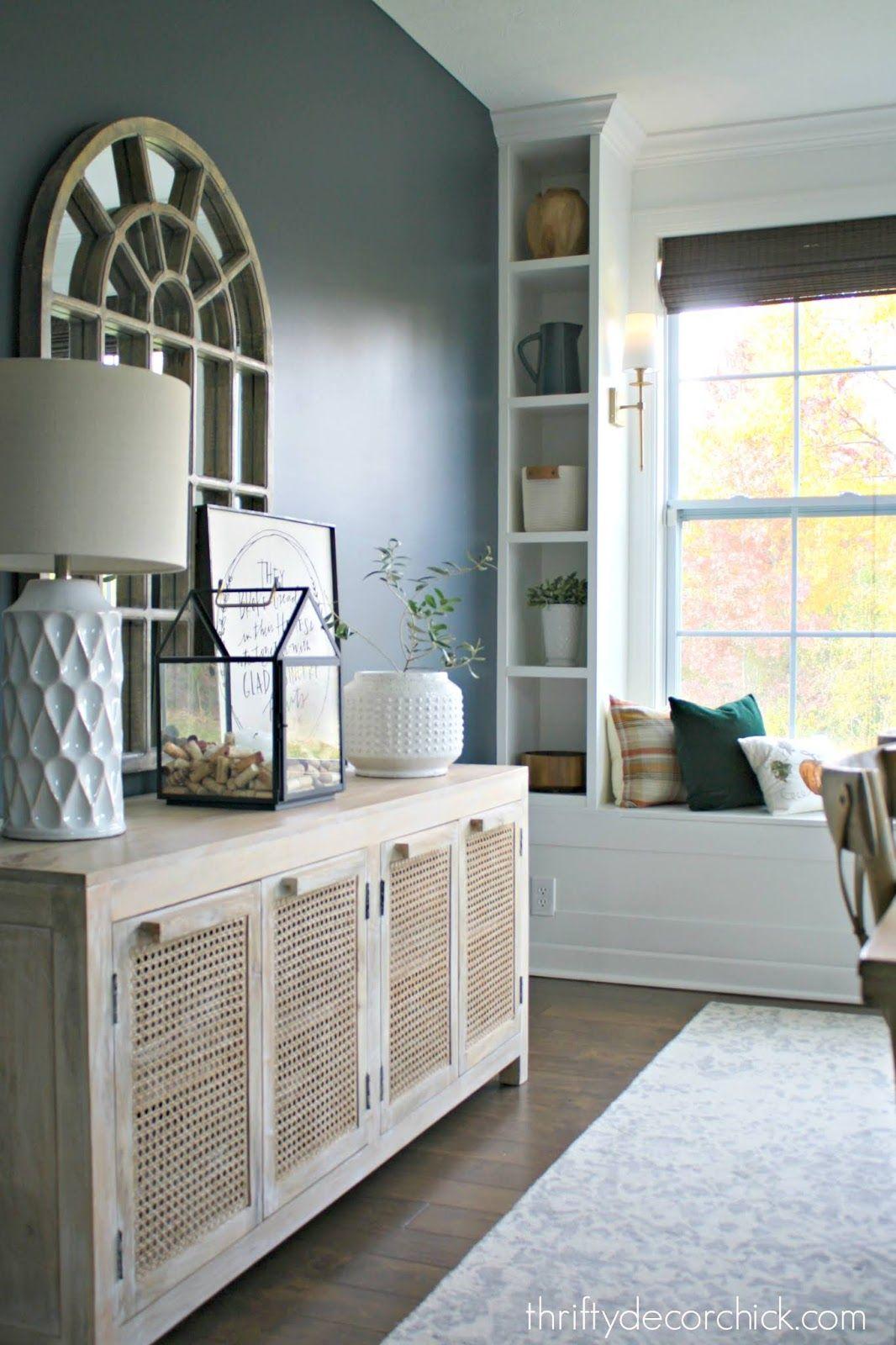 Dramatic dining room makeover also best inside decorating ideas images on pinterest bookshelves rh