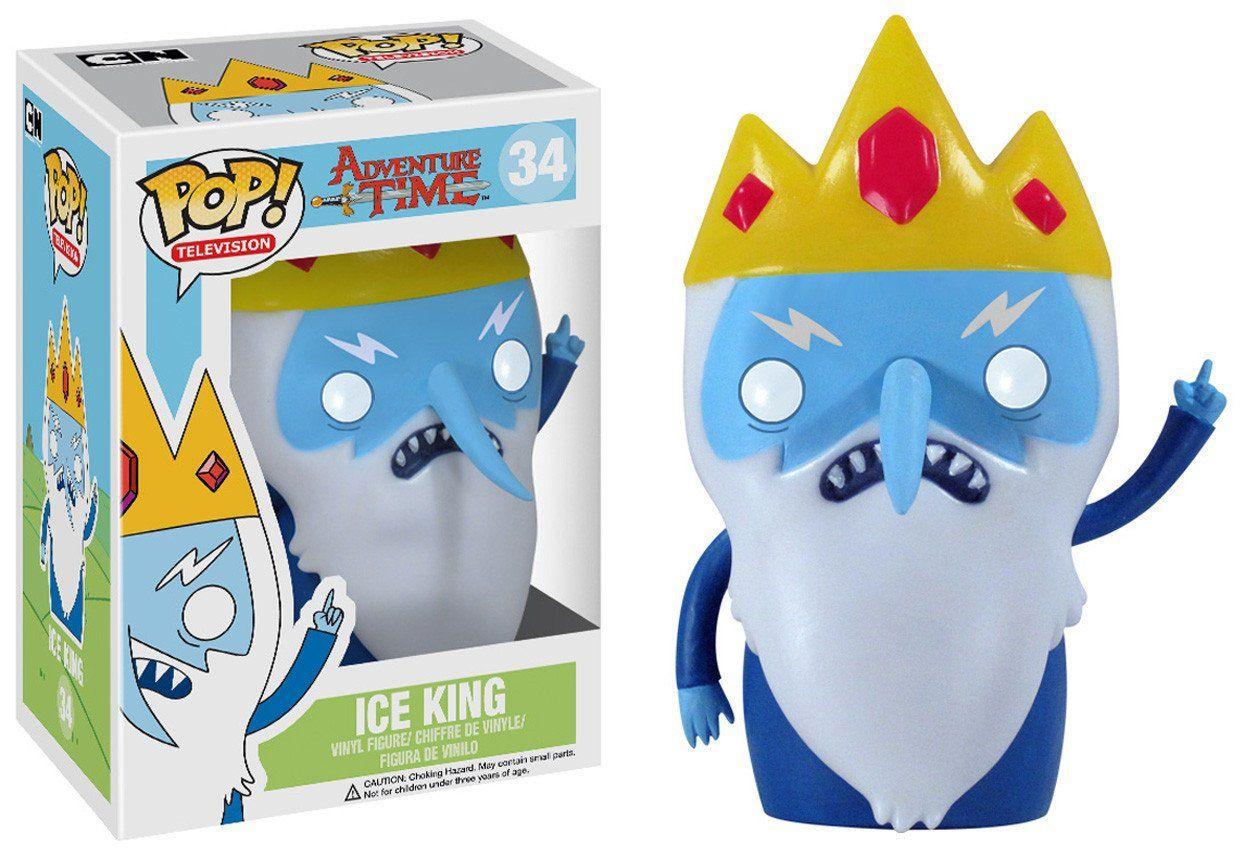 Pop Tv Adventure Time Ice King Pop Vinyl Figures Tempo De Aventura Hora De Aventura