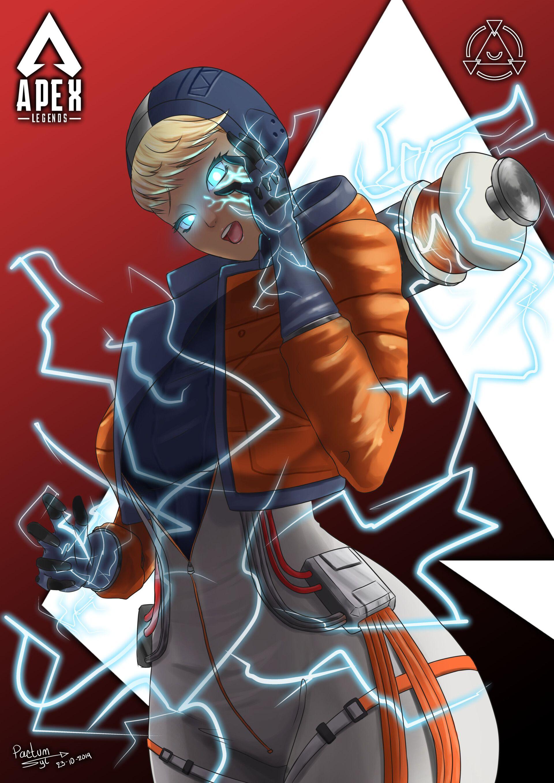 Wattson By Yatzyel Syl Apex Legends Anime Apex Legend