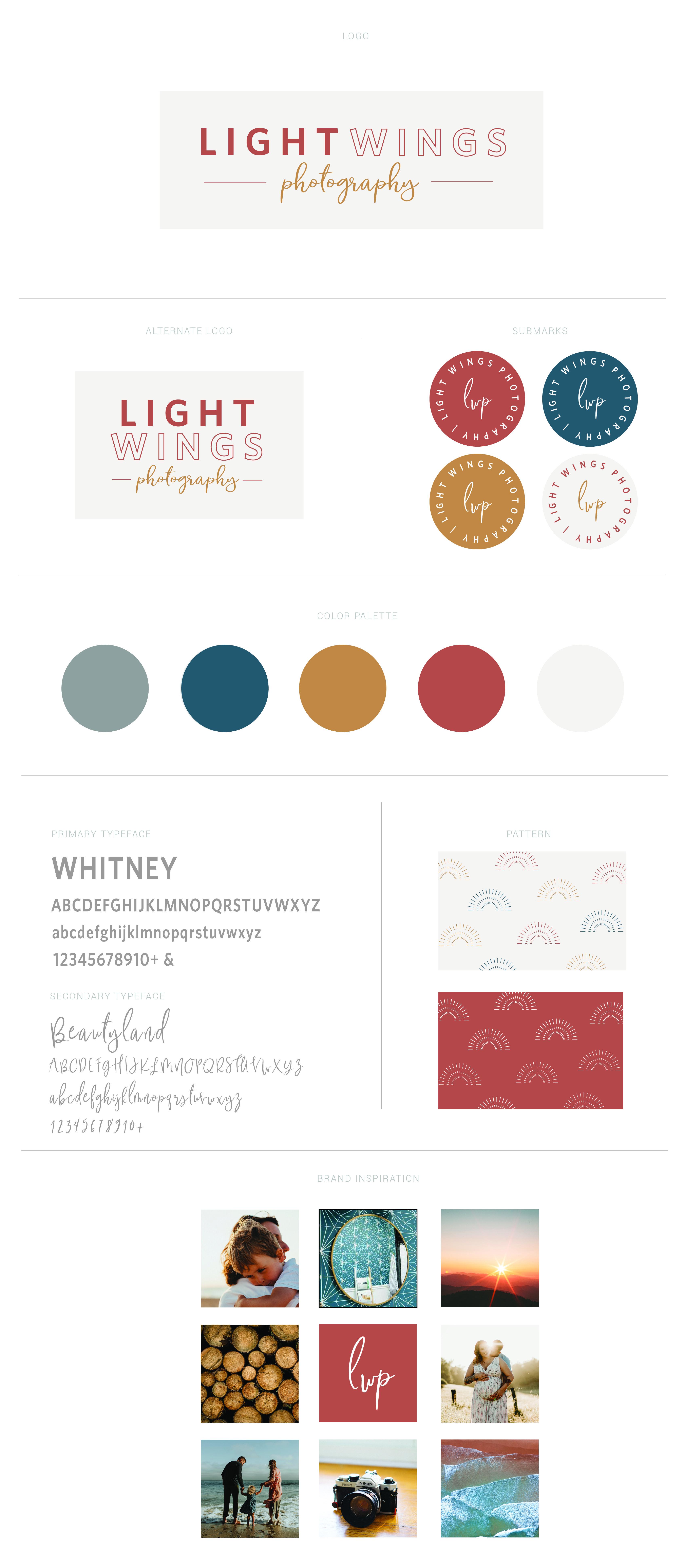 Branding, Logo, Design, Photography, Small Business, Light