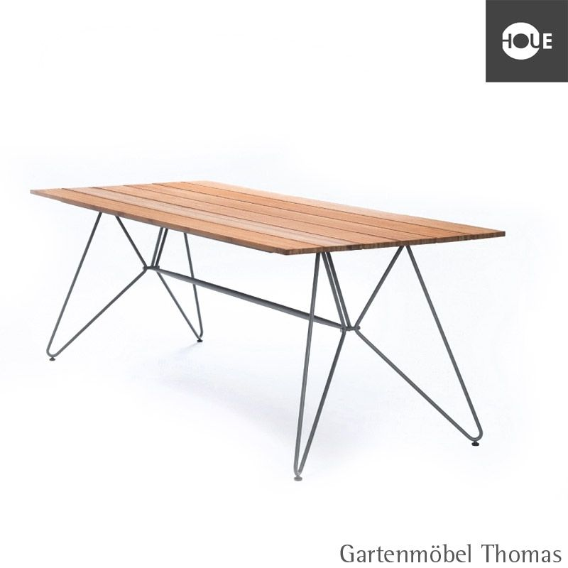 Houe Tisch SKETCH Dining 160x88 Metall / Bambus - hou-10705-0318 ...