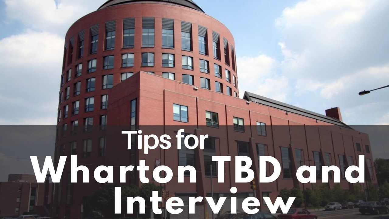 Did you miss our GMAT Club Webinar on Wharton's Interview