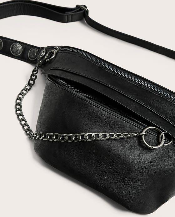 Bolsos de cintura de moda para mujer cinturón de cuero para señora bolsos cadenas con letras bolso de pecho para mujer bolso bandolera
