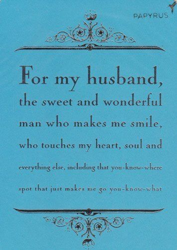 Greeting Card Birthday For My Husband The Sweet And WonderfulAmazonHealth Personal Care