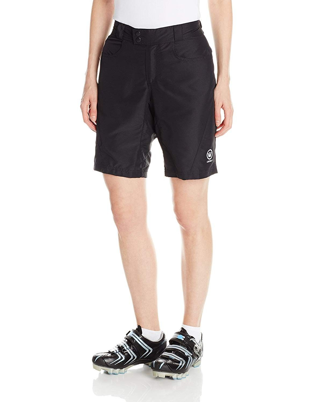 Women's Ramona Gel Baggy Cycling Shorts - Black - CI11U4CRMB1 - Sports & Fitness Clothing, Women, Sh...
