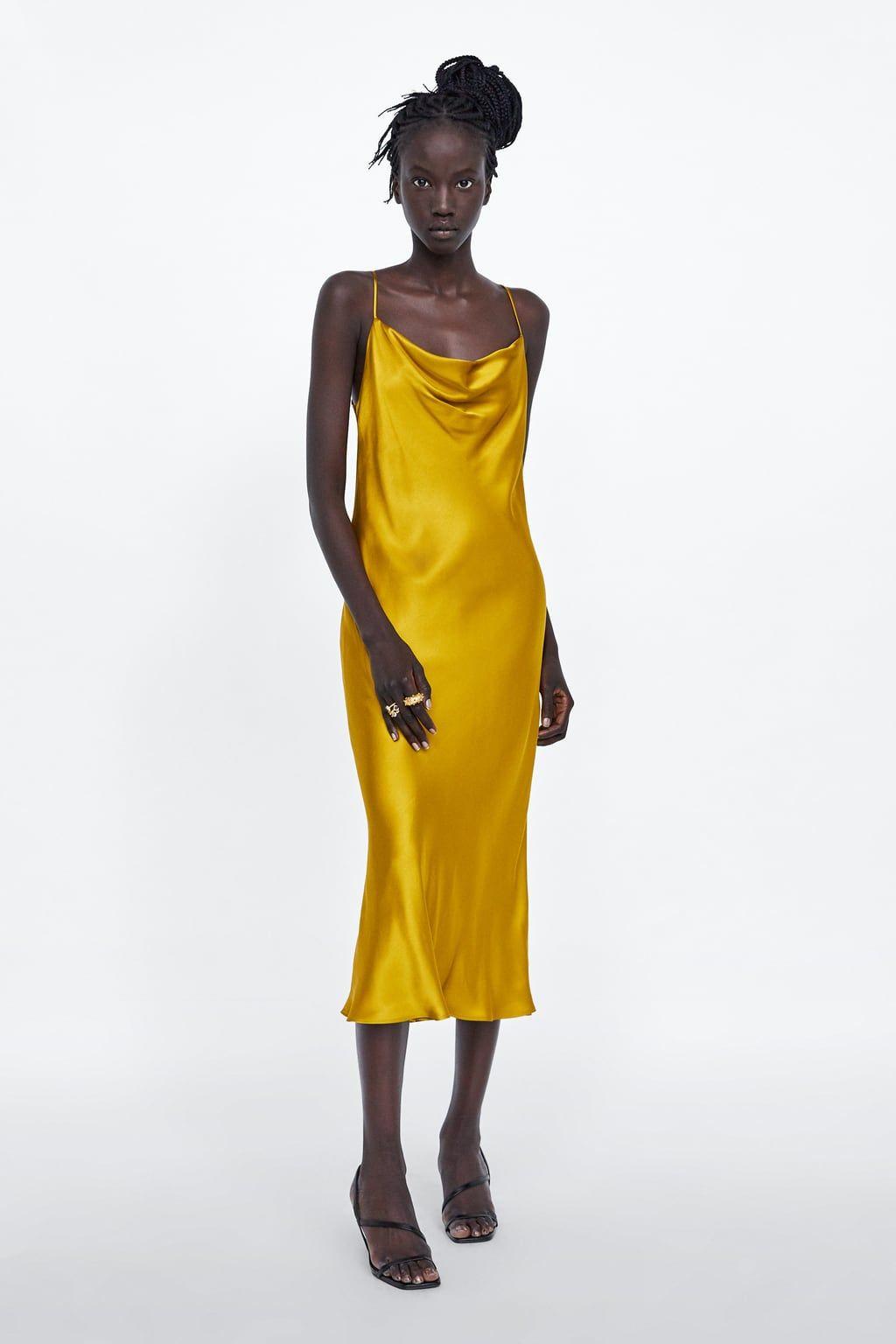 VESTIDO TIRANTES   Damen abendkleider, Zara damen, Kleider ...