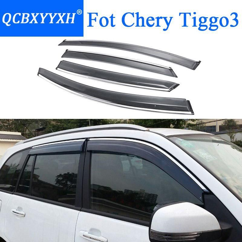 Car Shield Prices >> Qcbxyyxh Car Styling Awnings Shelters Window Visors Rain Eyebrow