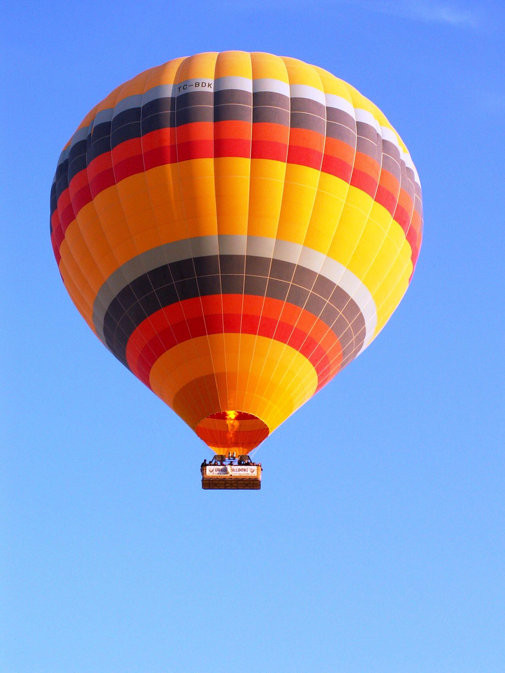 Orange Black And Yellow Hotair Balloon Flying On Sky Cappadocia Cappadocia Walk In In The Skies Cappadocia Xliv Orange B Balloons Wallpaper Hd Wallpaper