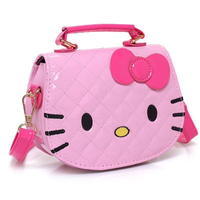 Luxury Handbags Women Bags Designer High Quality Shoulder Bag Korean Cartoon Hello Kitty Fashion Purses And