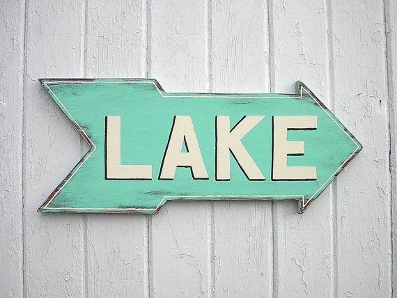 Lake House Wall Decor Wooden Lake Sign Wall Decor Lake House Custom Lake Signs Wall Decor