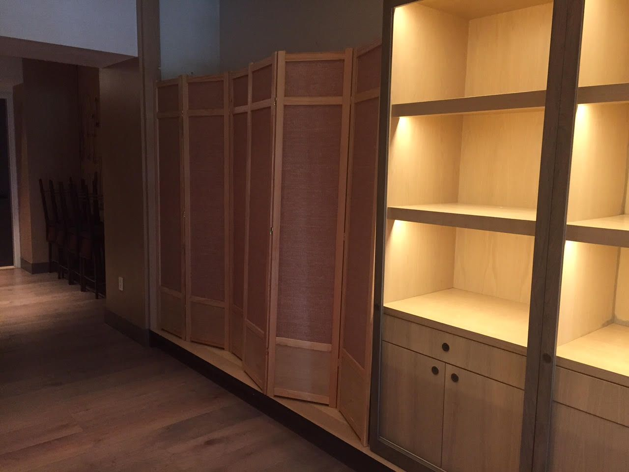 7 ft Tall Jute Shoji Room Divider Screen more panels finishes
