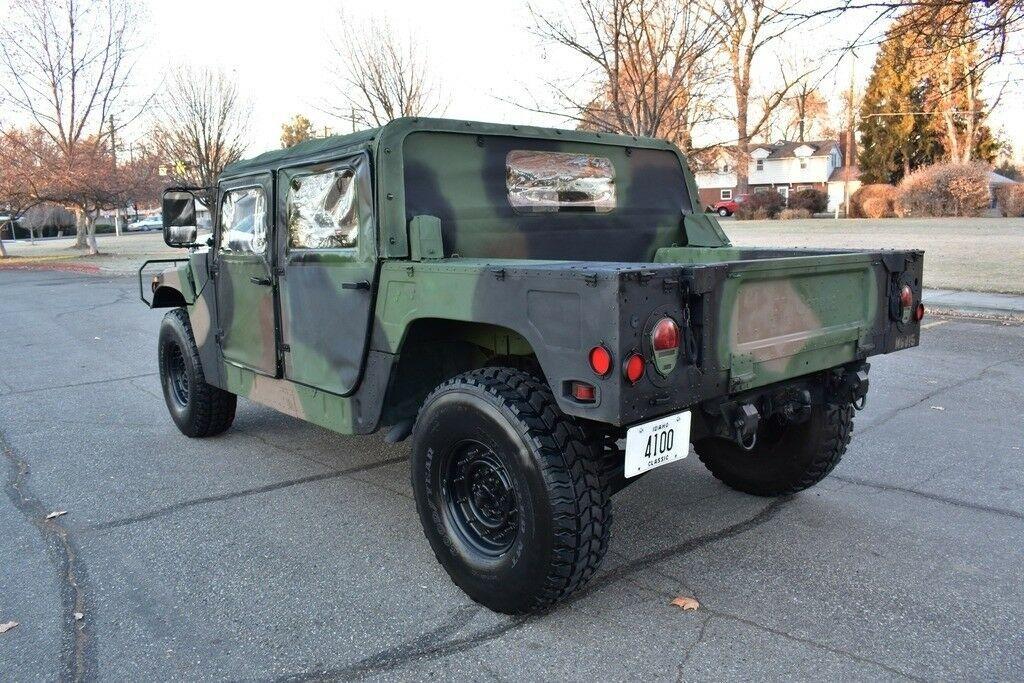 Rare Survivor 1988 Hummer M988 Humvee Monster For Sale Monster Trucks For Sale Hummer Monster Trucks