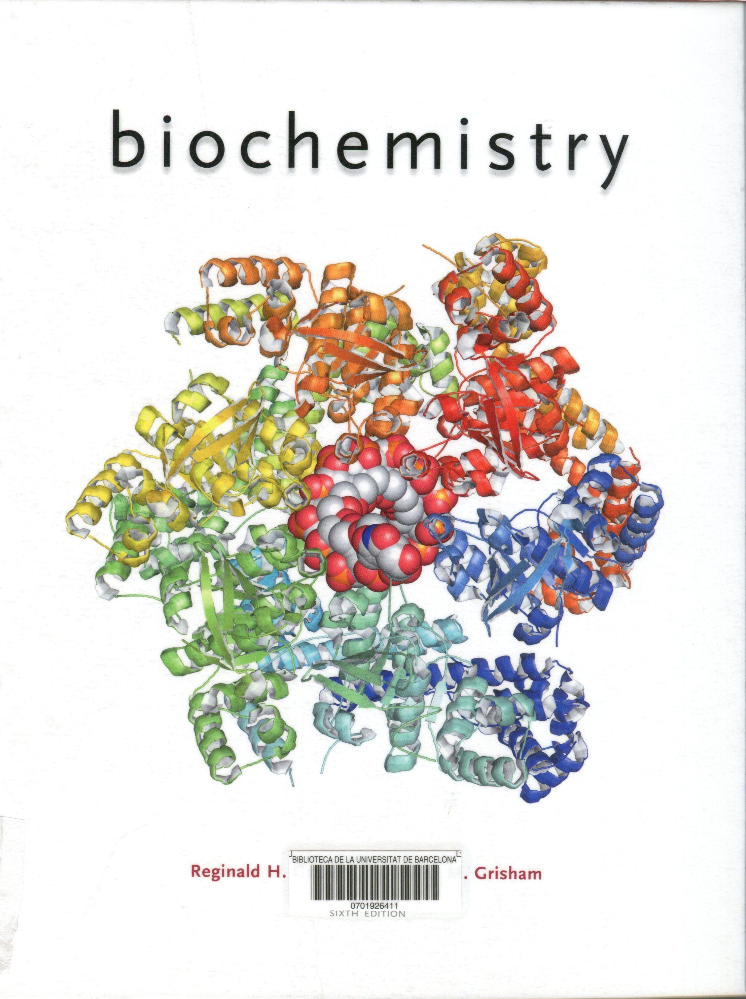 Biochemistry reginald h garrett charles m grisham university biochemistry reginald h garrett charles m grisham university of virginia fandeluxe Choice Image