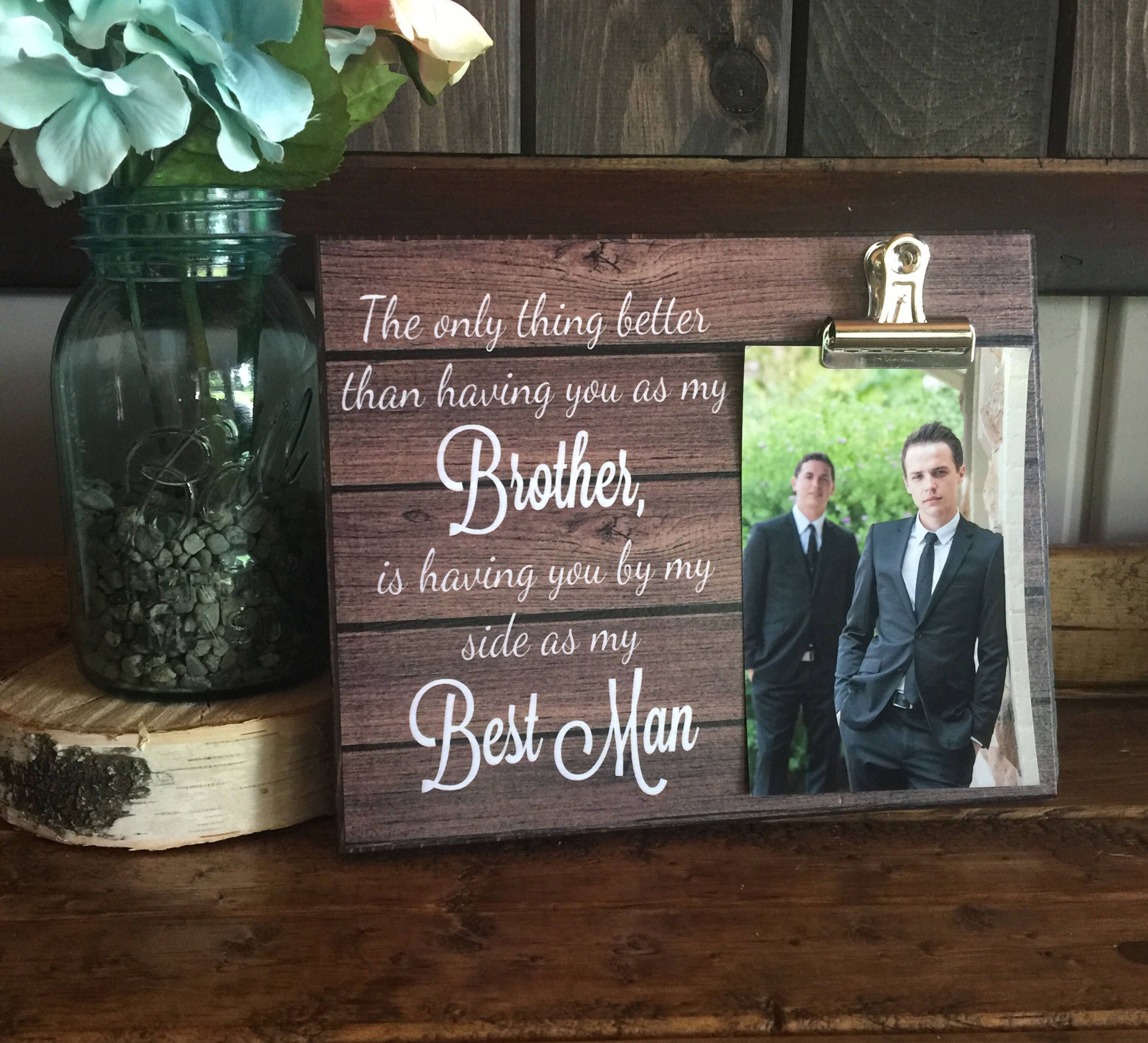 Wedding Gift For Acquaintance: Best Man Gift, Groomsman Proposal, The Only Thing Better