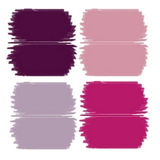 Color Themes Shades Of Plum