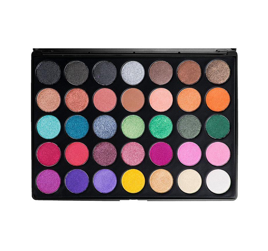 Morphe MultiColor Shimmer Eyeshadow Palette 35U