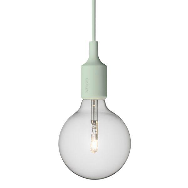 E27 lamppu, vaaleanvihre�