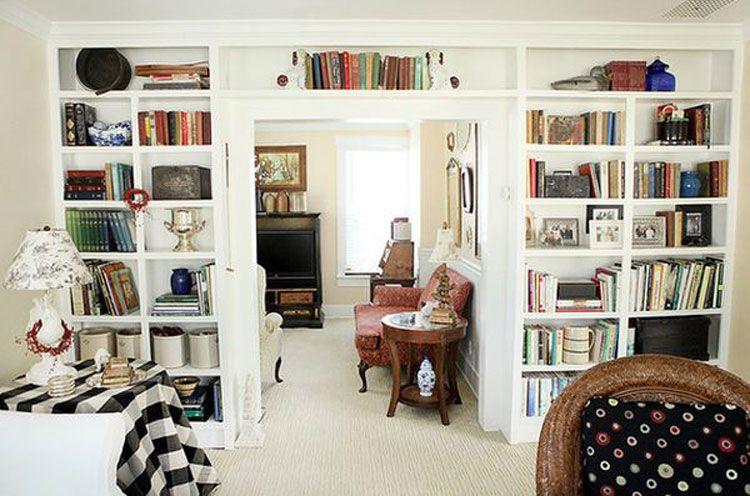62 idee di design per le librerie della vostra casa for Consigli per arredare una casa moderna