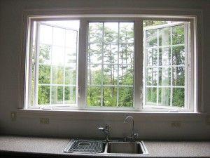 Triple Casement Windows Above Sink Google Search Vinyl Window Frame Casement Windows Window Vinyl