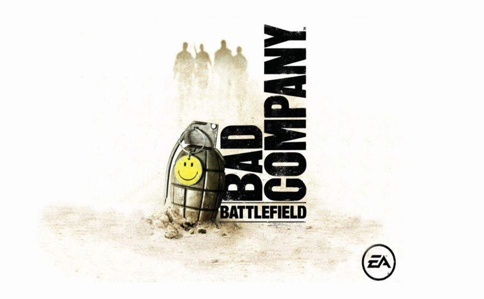 Battlefield Bad Company Smiley Grenade Hd Wallpaper Battlefield