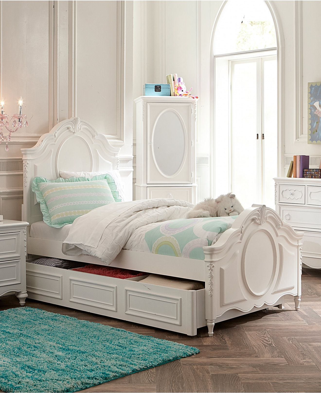 Celestial Kids Bed, Panel Bed