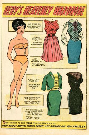 Marvel Comics, 1960s - Yakira Chandrani - Picasa Web Albums* The International Paper Doll Society by Arielle Gabriel for all paper doll and paper toy lovers. Mattel, DIsney, Betsy McCall, etc. Join me at #ArtrA, #QuanYin5 Linked In QuanYin5 YouTube QuanYin5!