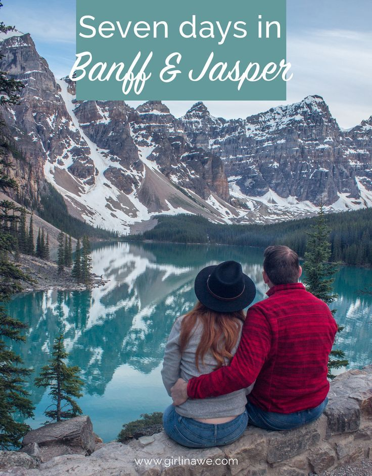 7 days in Banff & Jasper, Alberta A Sustainable Voyage