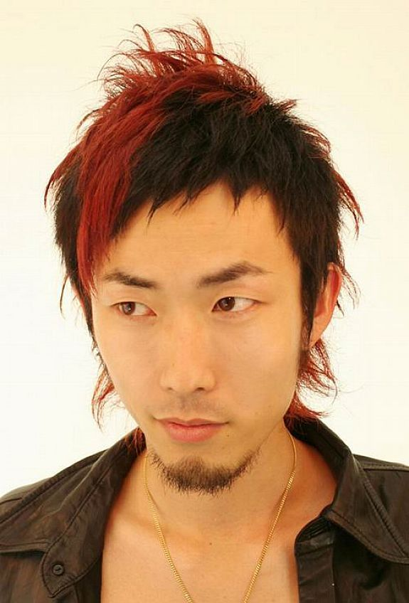 Asian Men Hairstyles Collections Asian Men Hairstyles With Red Highlight Hipsterwall Hipsterwall Com Uncategorized In Michael Kors Juicy Couture Marc Jacobs