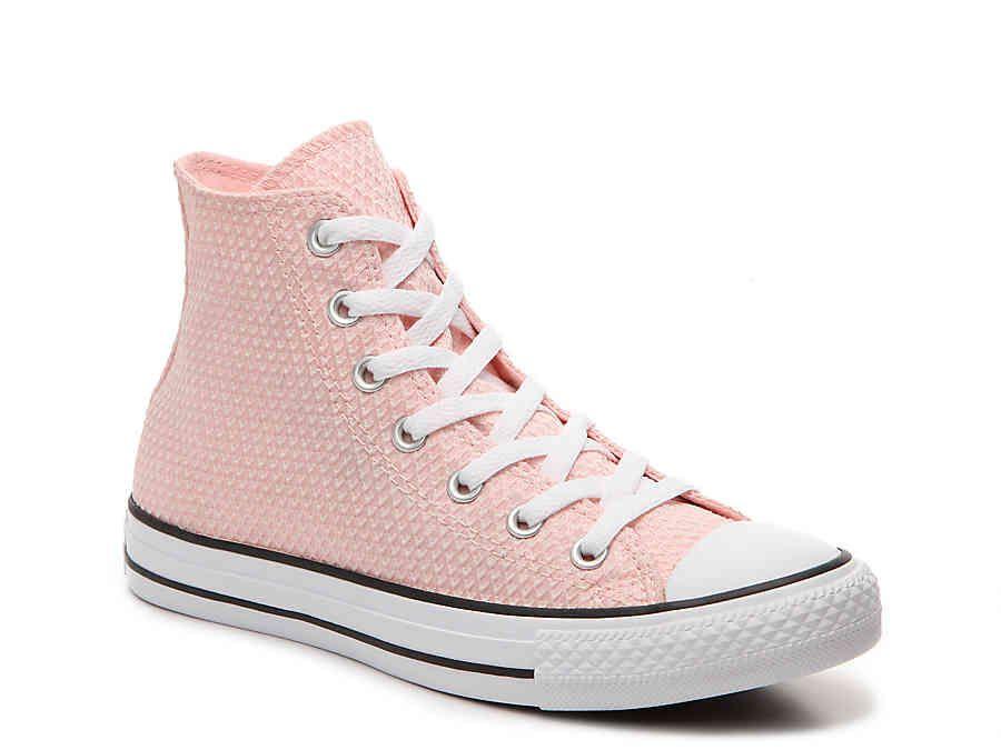 12f653520b3a Chuck Taylor All Star Textured High-Top Sneaker - Women s