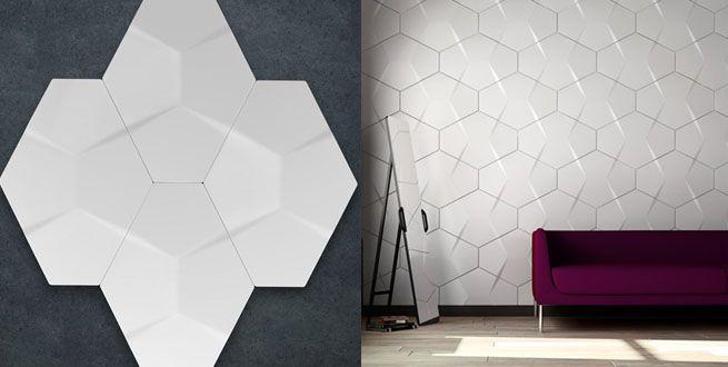 diseños 3d para paredes - Buscar con Google IDEAS CERÁMICAS